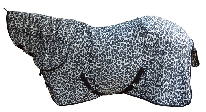 Snow Leopard Print – Fleece Combo