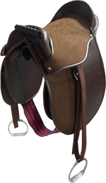 Kids PONY PAD / Cub Saddle complete with stirrups, girth & Straps