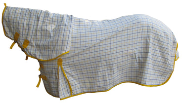 Yellow Check Cotton Ripstop Combo
