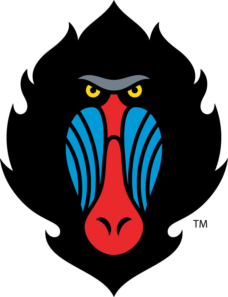 Mandrill Logo With Hair