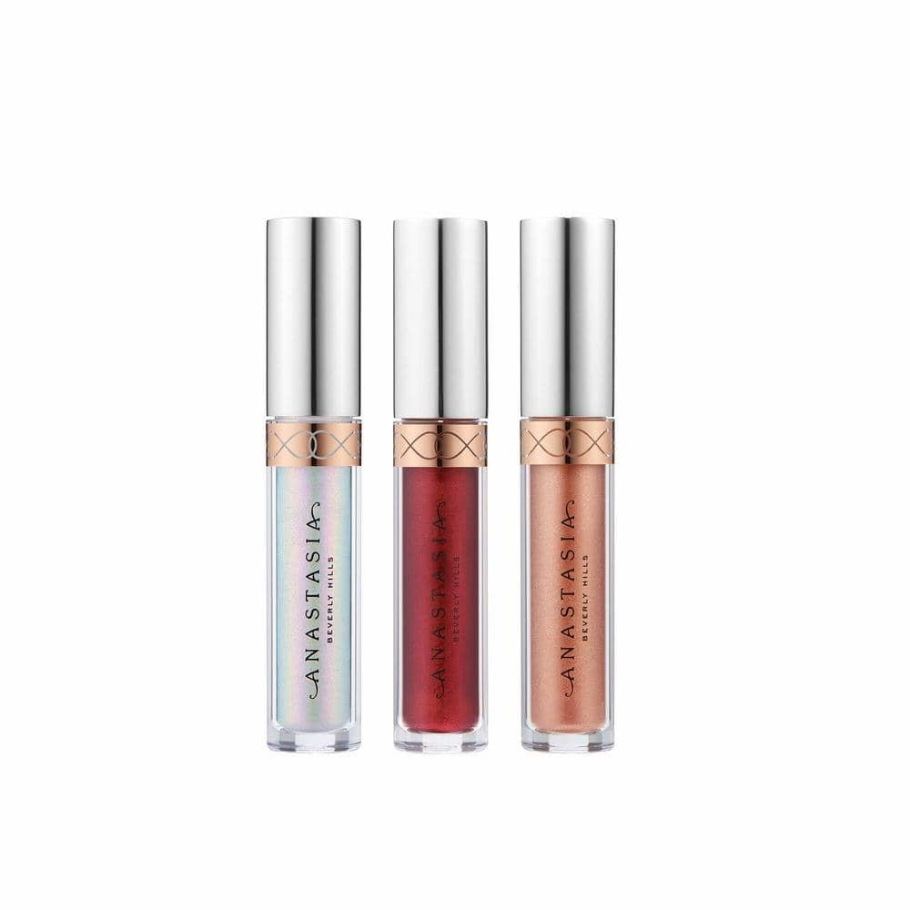 Mini Metallic Liquid Lipstick - 3 pc set