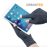 Unisex Therapy Compression Gloves Hand Arthritis Joint Pain Relief Health Care Half-finger Gloves