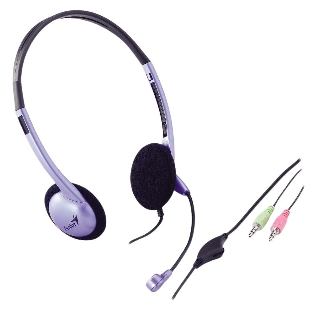 Audífonos Headset Genius HS-04S Chat Talk Mic