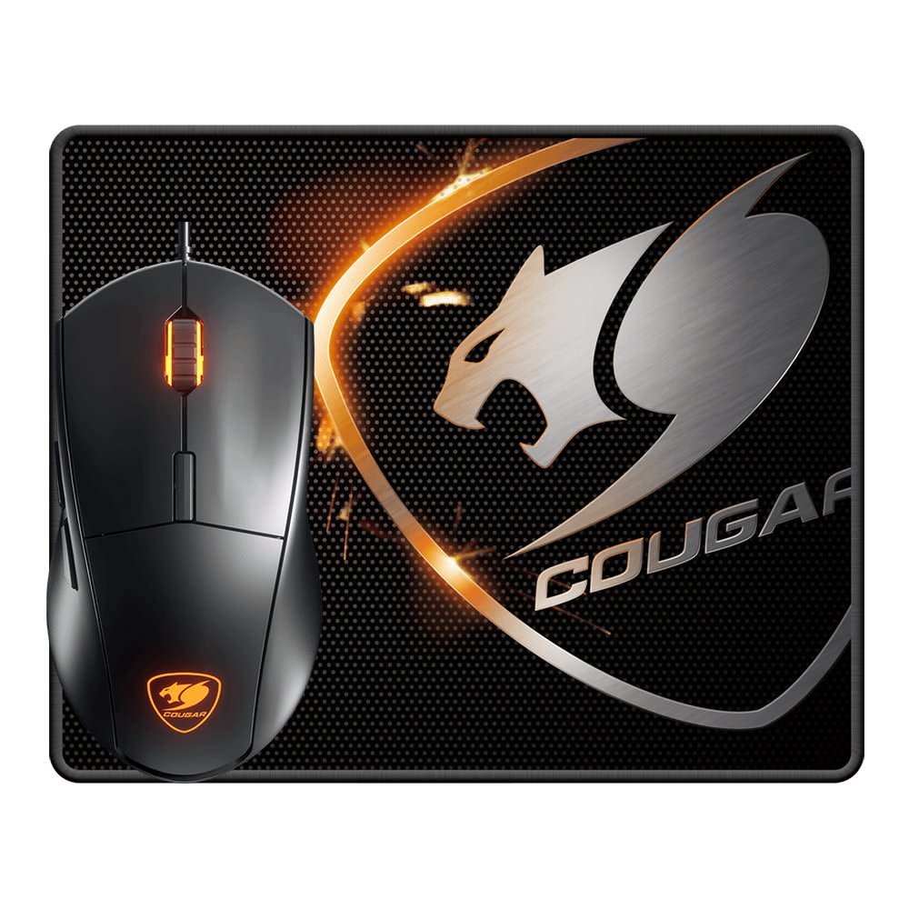 Kit Gamer Cougar Mouse Minos XC + Pad Speed XC - Mundo Electro