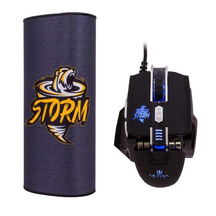 Kit Gamer Mouse X12 + Mouse Pad Ultra Storm - Mundo Electro