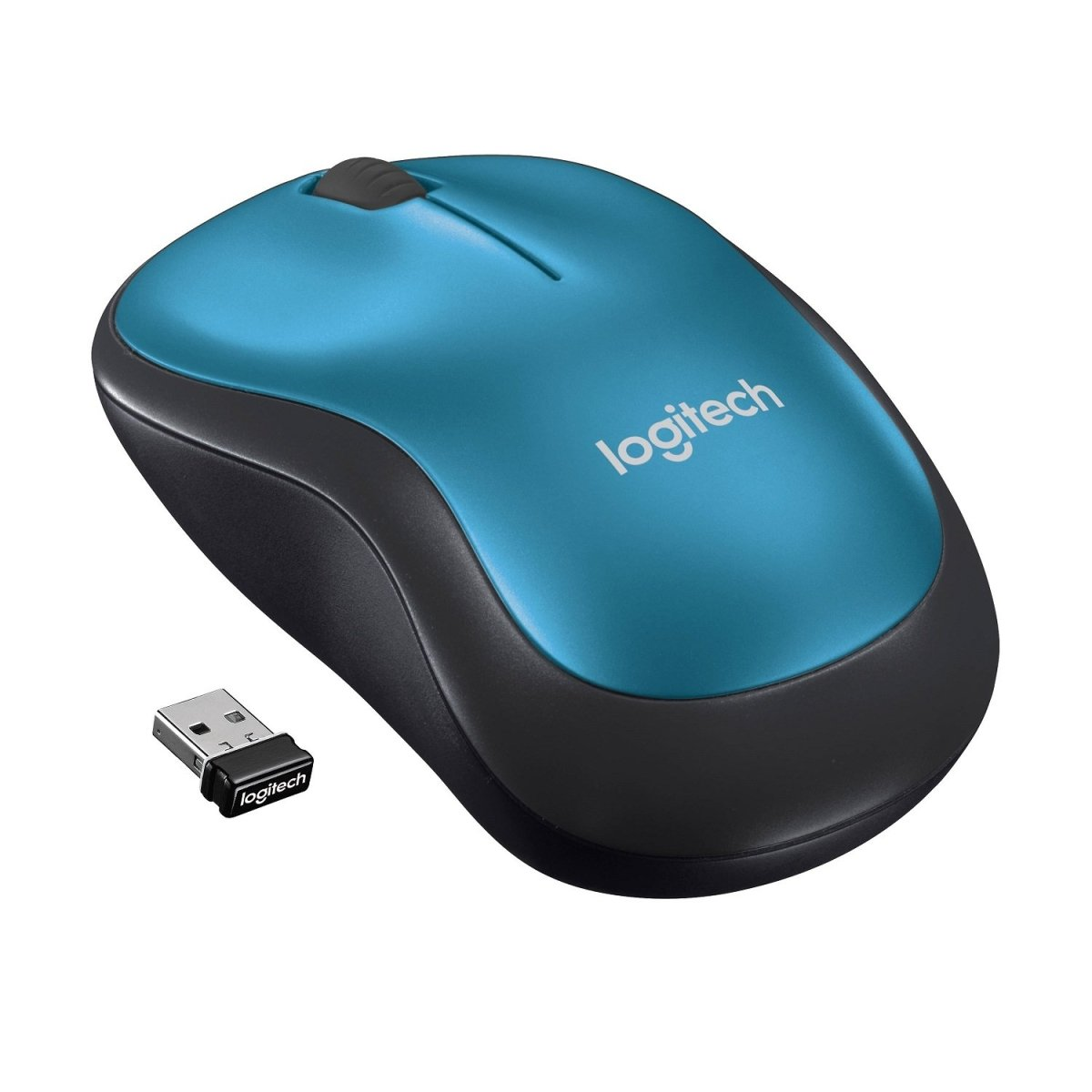 Mouse Inalámbrico Logitech M185 Wireless - Mundo Electro