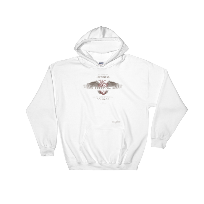 Thucydides Courage (Light Cotton-blend Hooded Sweatshirt)