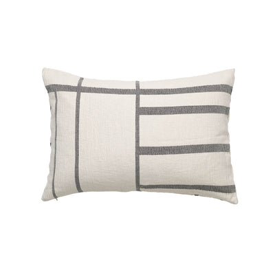Kristina Dam Studio Architecture Cushion, Off-White/Black Melange