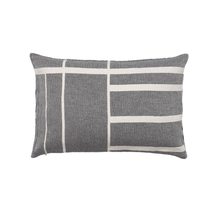 Kristina Dam Studio Architecture Cushion, Black/Off-White