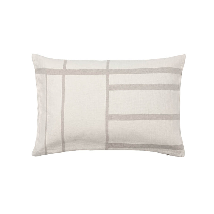 Kristina Dam Studio Architecture Cushion, Off-White/Beige