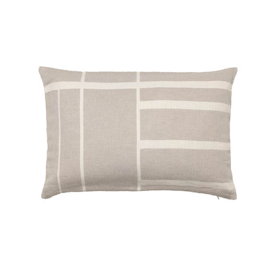 Kristina Dam Studio Architecture Cushion, Beige/Off-White