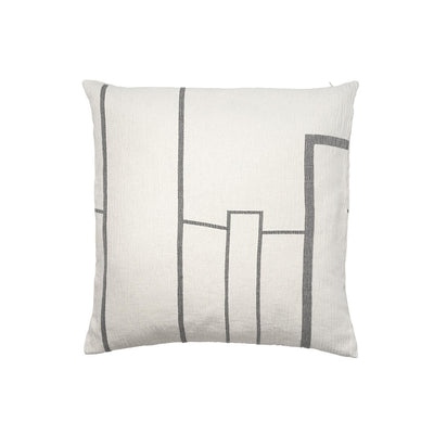 Kristina Dam Studio Architecture Cushion, Off-White/Black Melange, Large