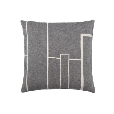 Kristina Dam Studio Architecture Cushion, Black/Off-White, Large
