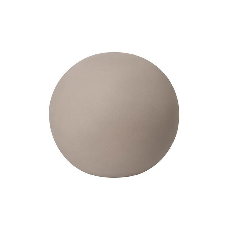 Kristina Dam Studio Globe Sculpture, Grey, Large