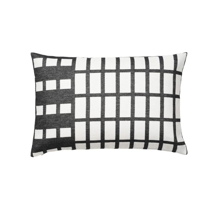 Kristina Dam Studio Contemporary Cushion, Black/Off-White
