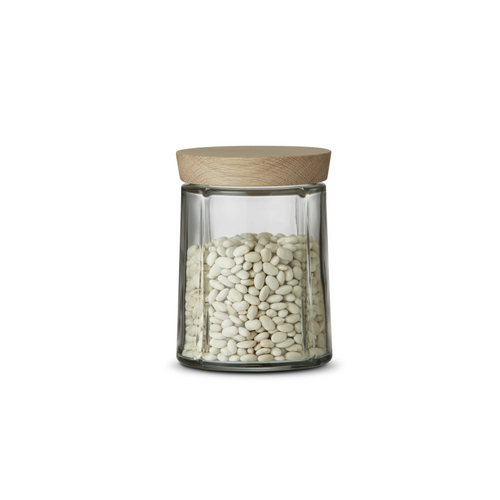 Grand Cru Glass Storage Jar 0.8 Qt.