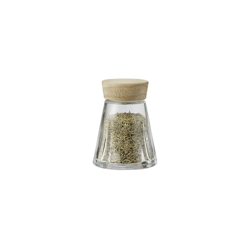 Grand Cru Spice Jar w/Oak Lid