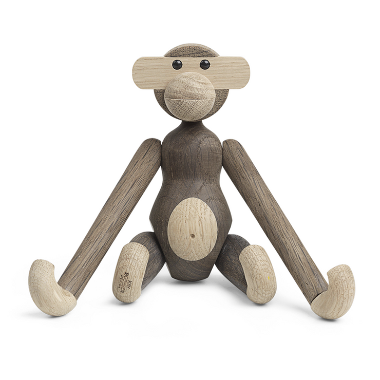 Kay Bojesen Monkey, Oak & Smoked Oak (1951)