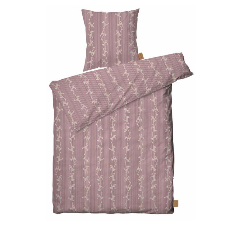 Kay Bojesen Bed Linen Monkey Junior, Rose