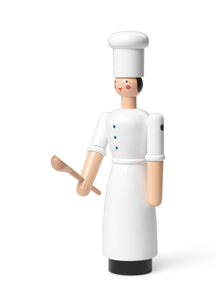 Kay Bojesen Chef Girl, White
