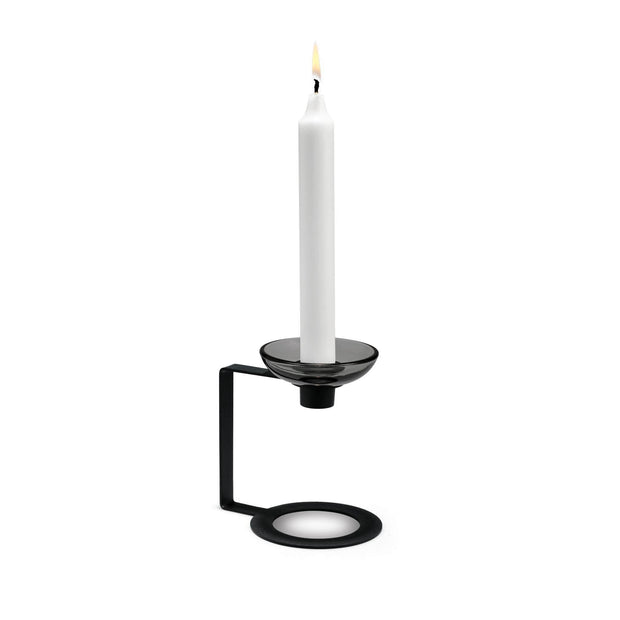 LUMI Candleholder, 1-Armed, 4.9""