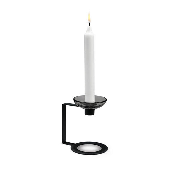 LUMI Candle Holder, 1-Armed, 4.9""