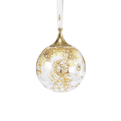 Bjørn Wiinblad Christmas Bauble Gold