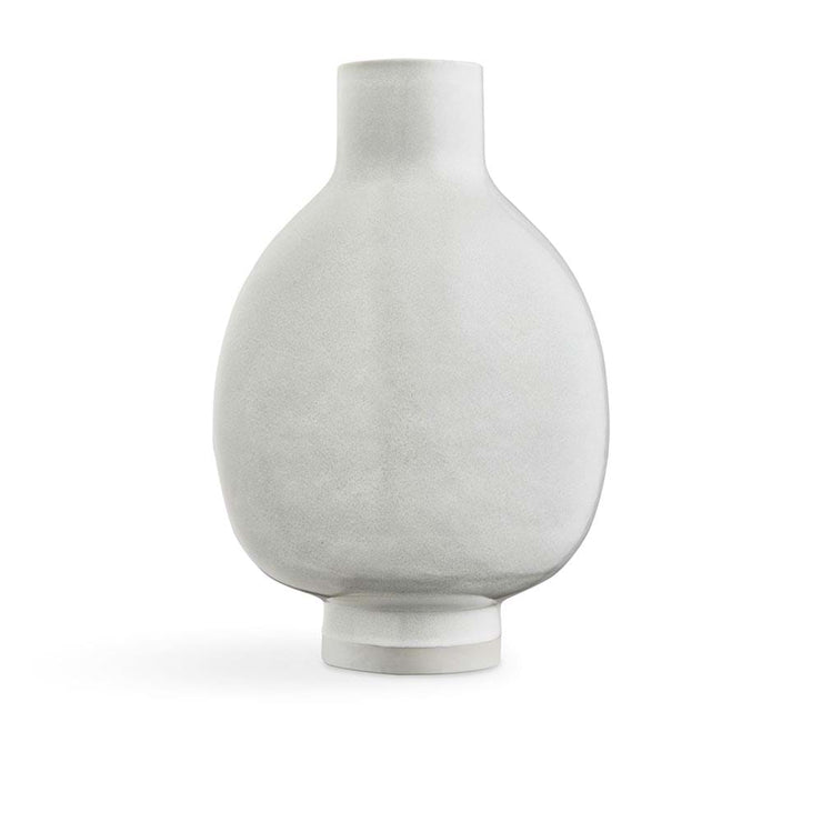 Kähler Unico Floor Vase, White, 20""