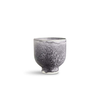 Kähler Unico Flowerpot, Dark Grey, 5""