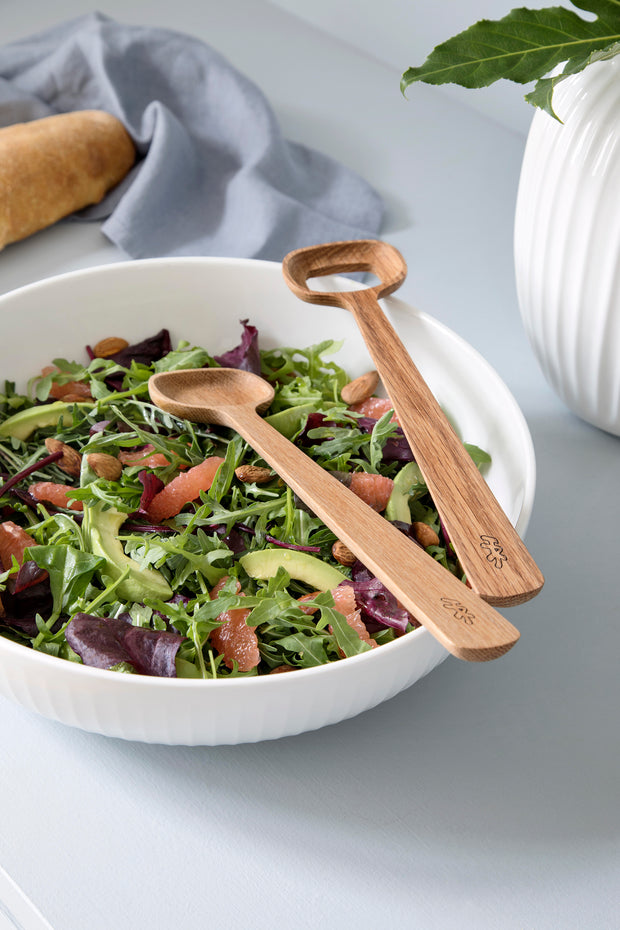 Kähler-Hammershøi-Salad-Serving-Set-Oak