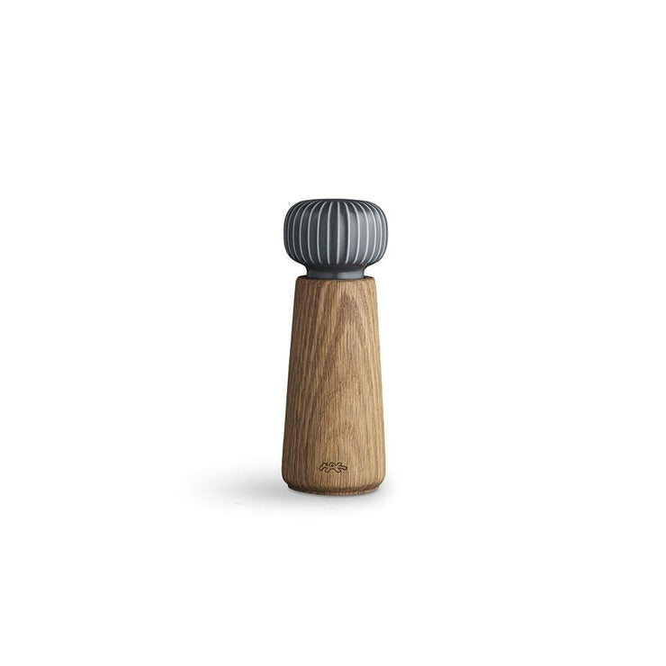 Kähler-Hammershøi-Pepper-Mill-Anthracite-Grey-6.9""