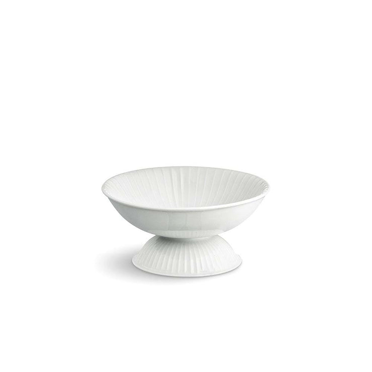 Kähler Hammershøi-Bowl-on-Stand-White-6.3""