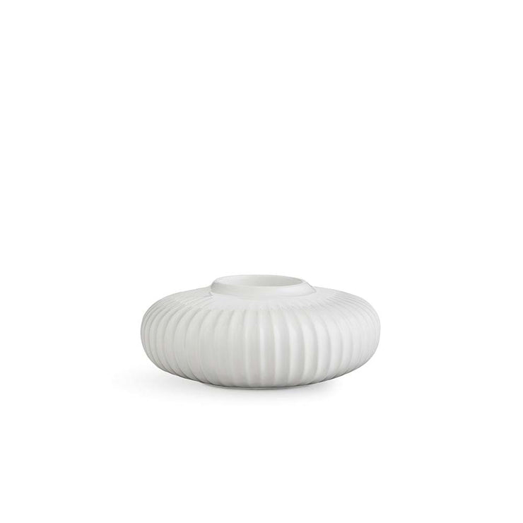 "Kähler-Hammershøi-Tealight-Holder-White-5.1""-3Pcs."