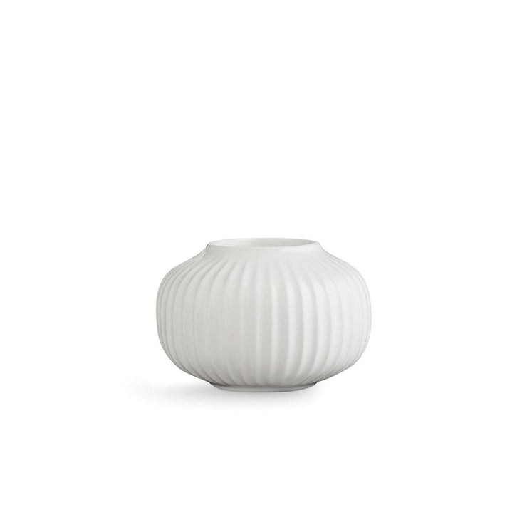 "Kähler-Hammershøi-Tealight-Holder-White-4""-3 Pcs."