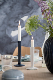 Kähler-Hammershøi-Candle-Holder-White-3pcs.