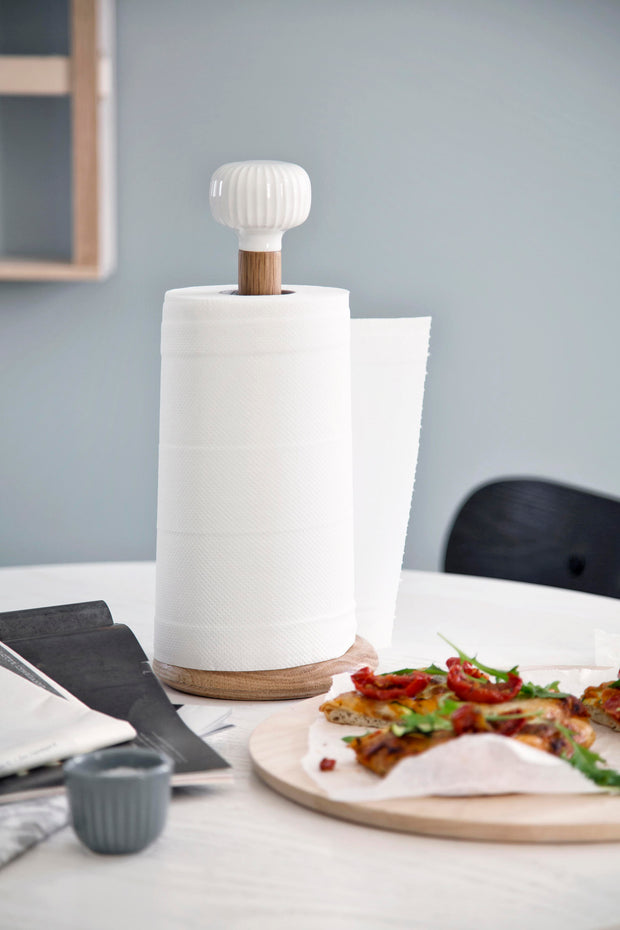 Kähler-Hammershøi-Kitchen-Roll-Holder-White