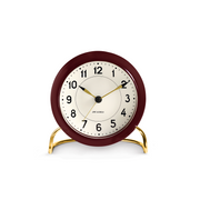 ArneJacobsen-StationAlarmClock-Red