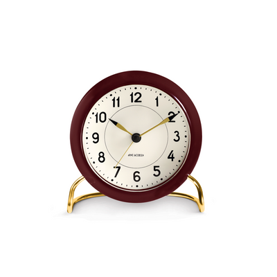 Station Alarm Clock, Red