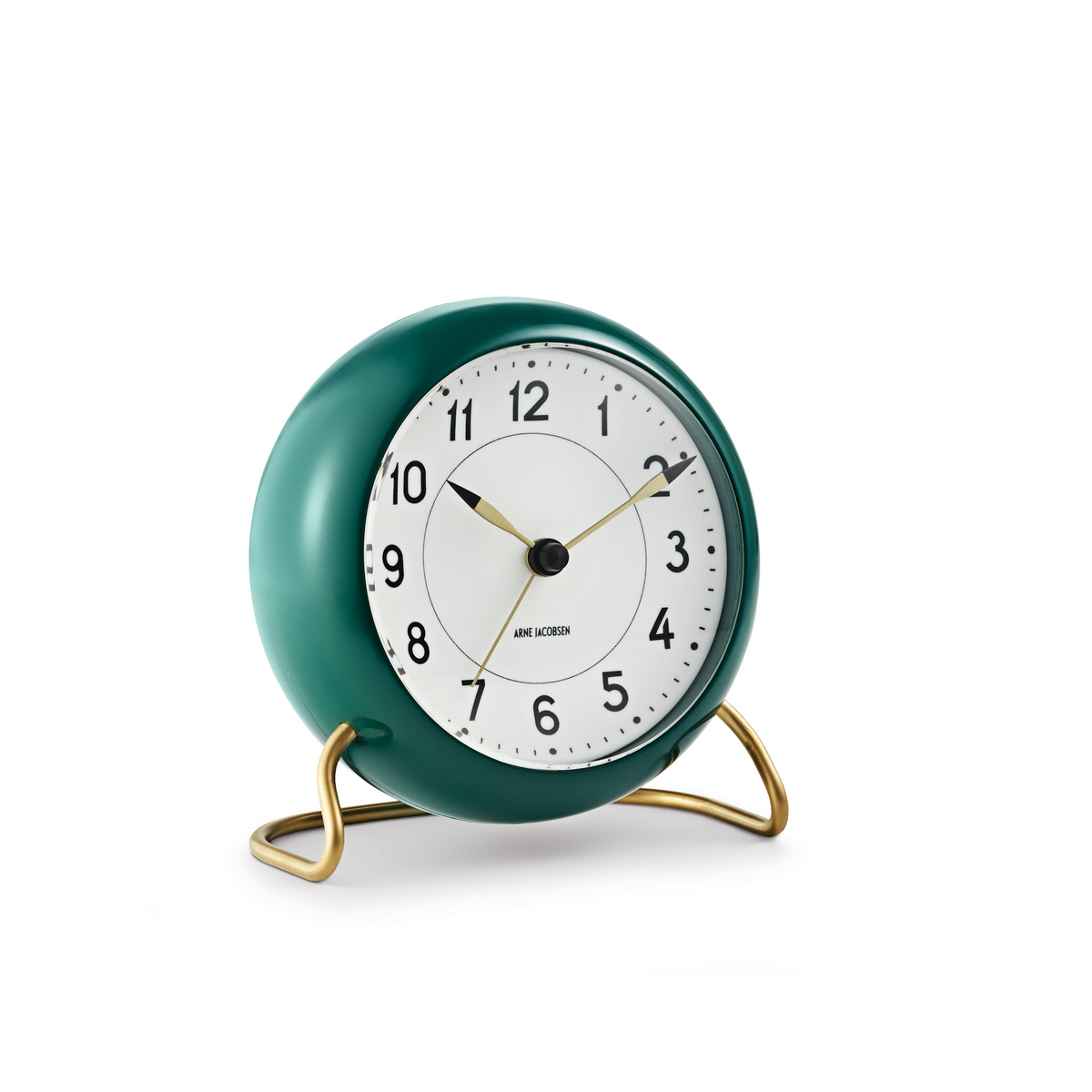 Station Alarm Clock, Green