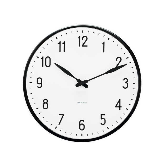 Arne-Jacobsen-Station-Wall-Clock-19""