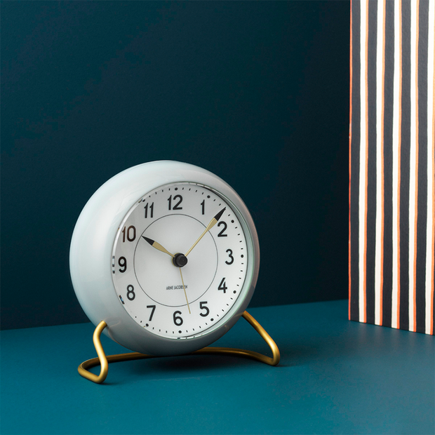 Arne-Jacobsen-Alarm-Clock-Grey