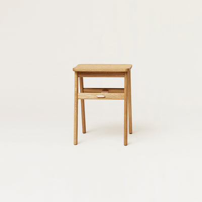 Form & Refine Angle Stool, Oak