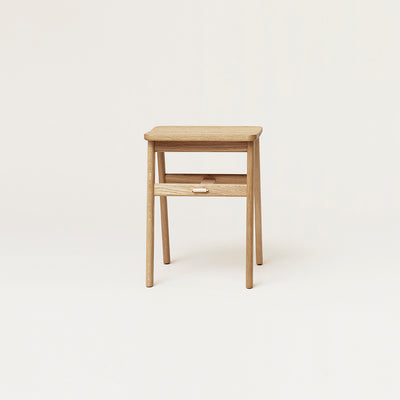 Form & Refine Angle Stool, White Oak