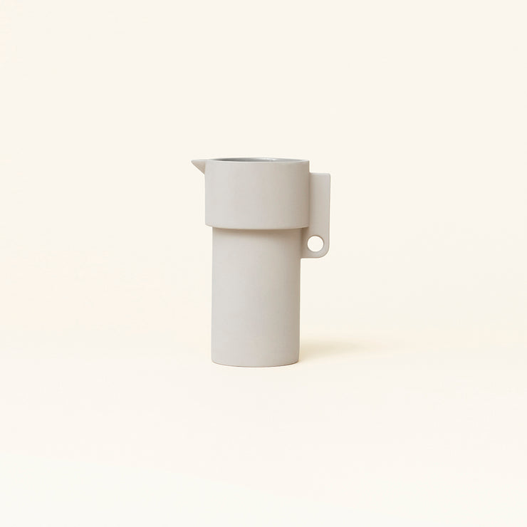 Form & Refine Alcoa Pitcher, Light Grey