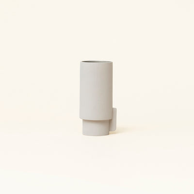Form & Refine Alcoa Vase Large, Light Grey
