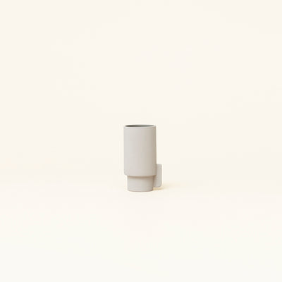 Form & Refine Alcoa Vase Small, Light Grey