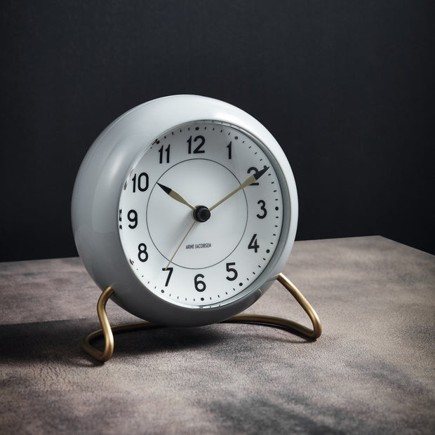 Station Alarm Clock, Grey