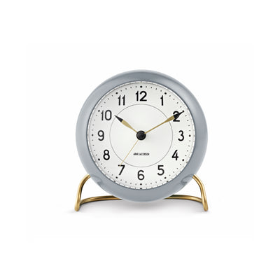 Arne Jacobsen Station Alarm Clock, Grey