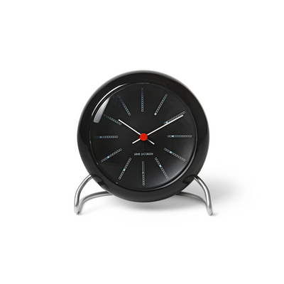 Bankers Alarm Clock, Black