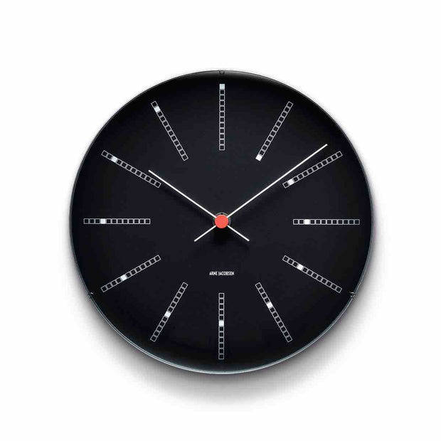 Arne Jacobsen Bankers Wall Clock, 8.3""